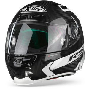 X-Lite X-803 RS Ultra Carbon Hot Lap 14 Carbon Zwart Wit