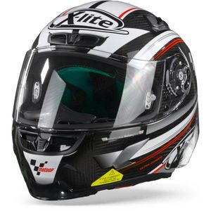 X-Lite X-803 RS Ultra Carbon Moto GP 11 Carbon Zwart Wit Rood
