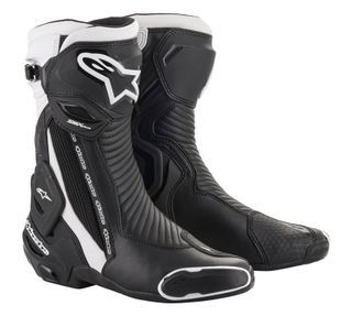 Alpinestars SMX Plus V2 Zwart Wit