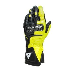 Dainese Carbon 3 Lang Zwart Fluo Geel Wit