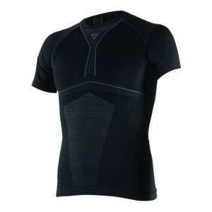 Dainese D-Core Dry Tee SS Zwart Antraciet