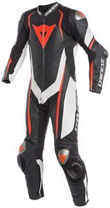Dainese Kyalami 1 Delig Perf. Zwart Wit Fluo Rood