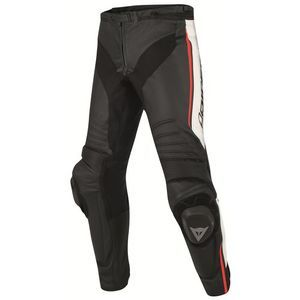 Dainese Misano Perf. Zwart Wit Fluo Rood