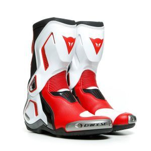 Dainese Torque 3 Out Air Zwart Wit Lava Rood
