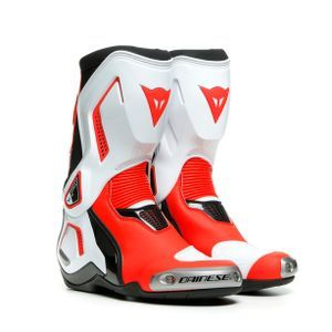 Dainese Torque 3 Out Lady Zwart Wit Fluo Rood