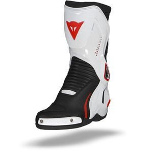 Dainese Course D1 Out Zwart Wit Lava Rood