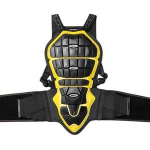 SPIDI BACK WARRIOR 170-180 BLACK YELLOW BACK PROTECTOR
