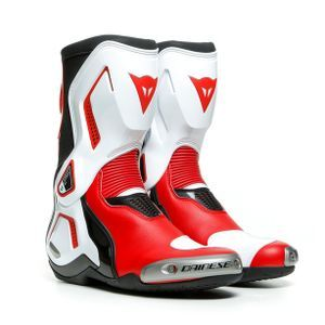 Dainese Torque 3 Out Zwart Wit Lava Rood