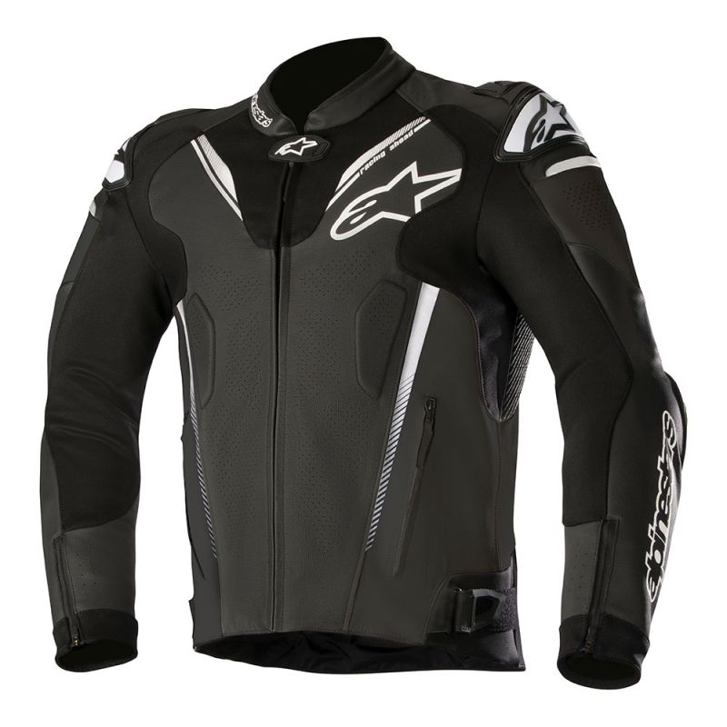 Afbeelding van alpinestars atem v3 black leather jacket