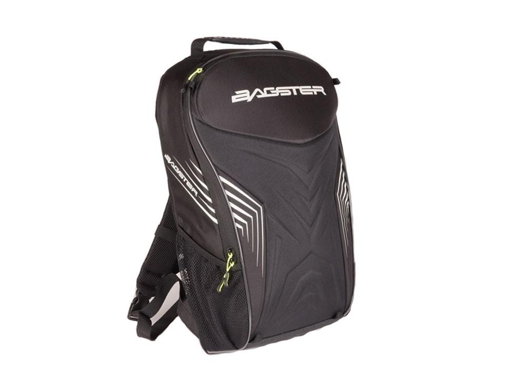 Afbeelding van bagster rac'r black white backpack