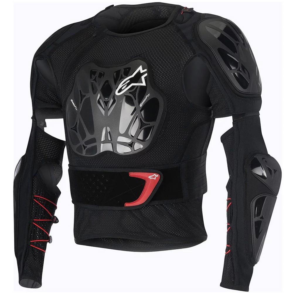 Afbeelding van alpinestars bionic tech zwart wit rood jas