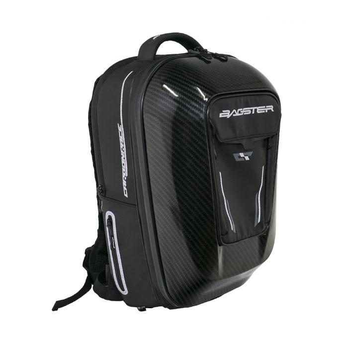 Afbeelding van bagster carbonrace black backpack
