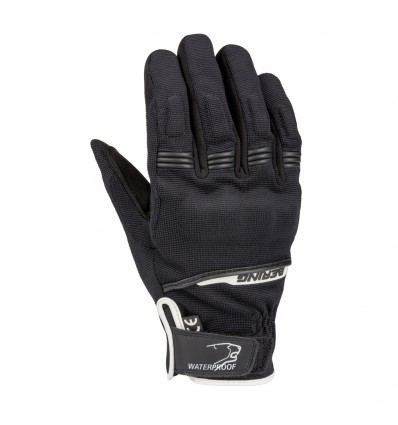 Afbeelding van bering borneo zwart wit motorhandschoenen