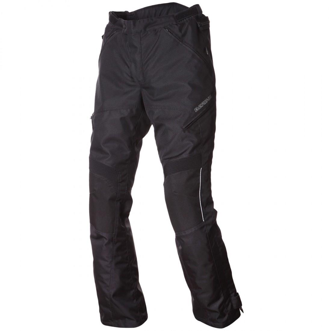 Afbeelding van bering intrepid zwart textielen motorbroek