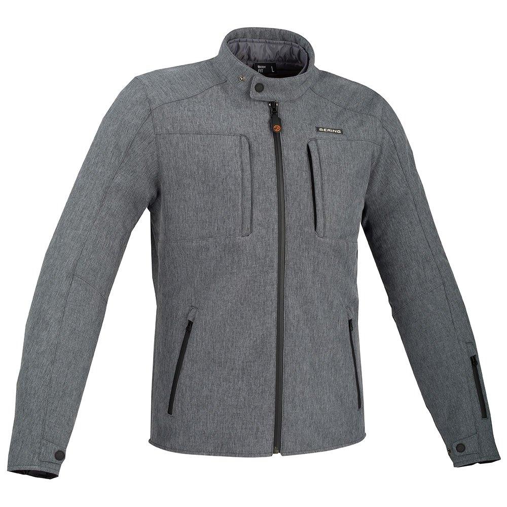 Afbeelding van bering carver grey motorcycle jacket
