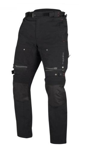 Afbeelding van bering bronko zwart textielen motorbroek