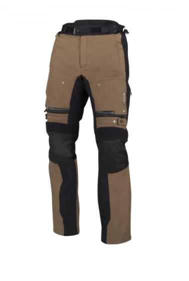 Afbeelding van bering bronko zwart bruin textielen motorbroek