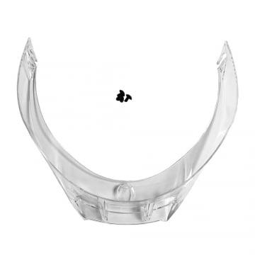 Afbeelding van biplano spoiler for pista gp r helmets clear