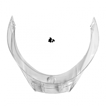 Afbeelding van agv biplano spoiler for pista gp r helmets clear