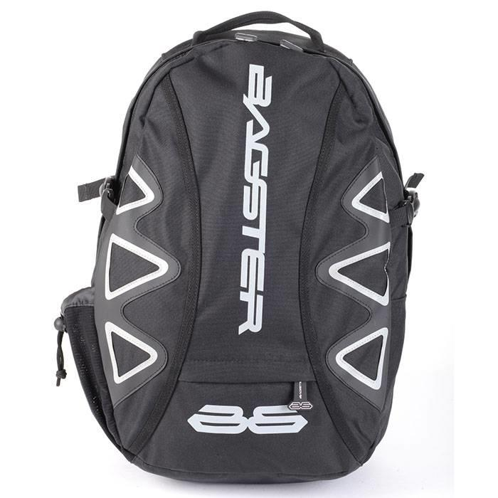 Afbeelding van bagster player black white backpack